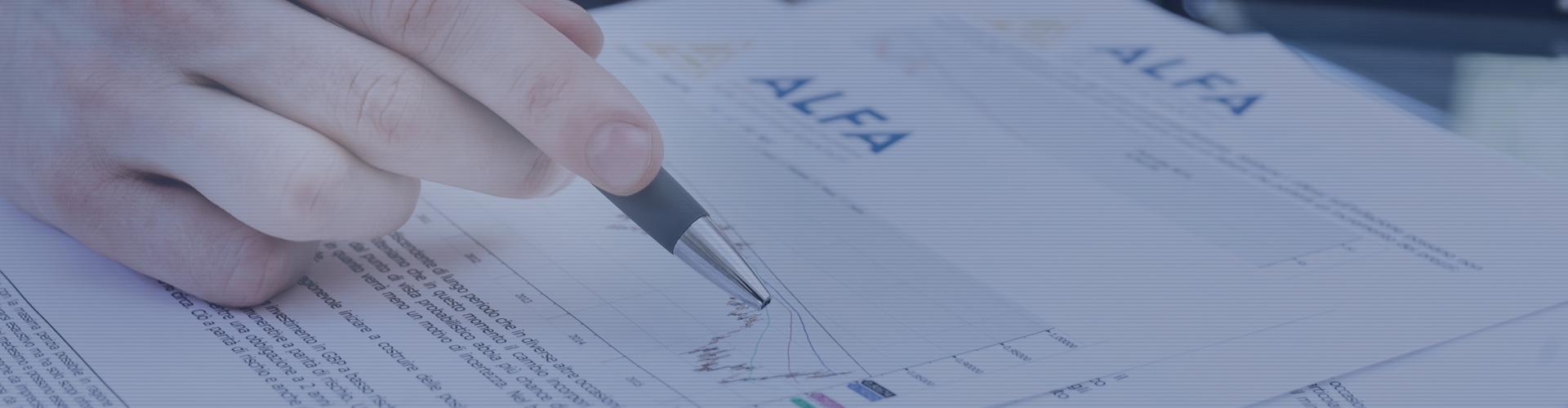 ALFA - Società di Consulenza Finanziaria | Slide 2 (home)